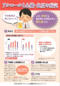 アルコールと心臓・血圧の病気